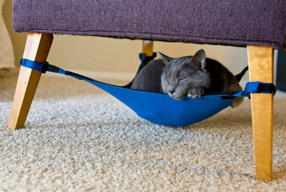 The CatCrib Is Like A Hammock For Your Kitty