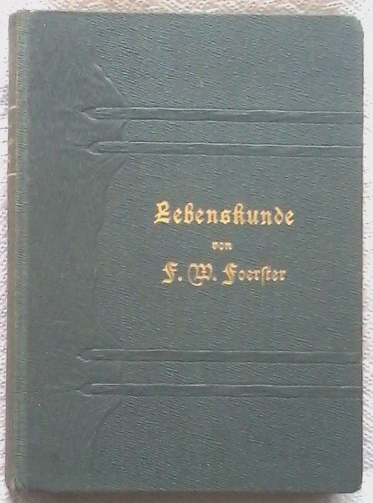 Amazon.it: Lebenstunde - Dr. Fr. W. Foerster - Libri