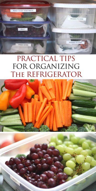 Top 5 Refrigerator Organization Tips | eBay