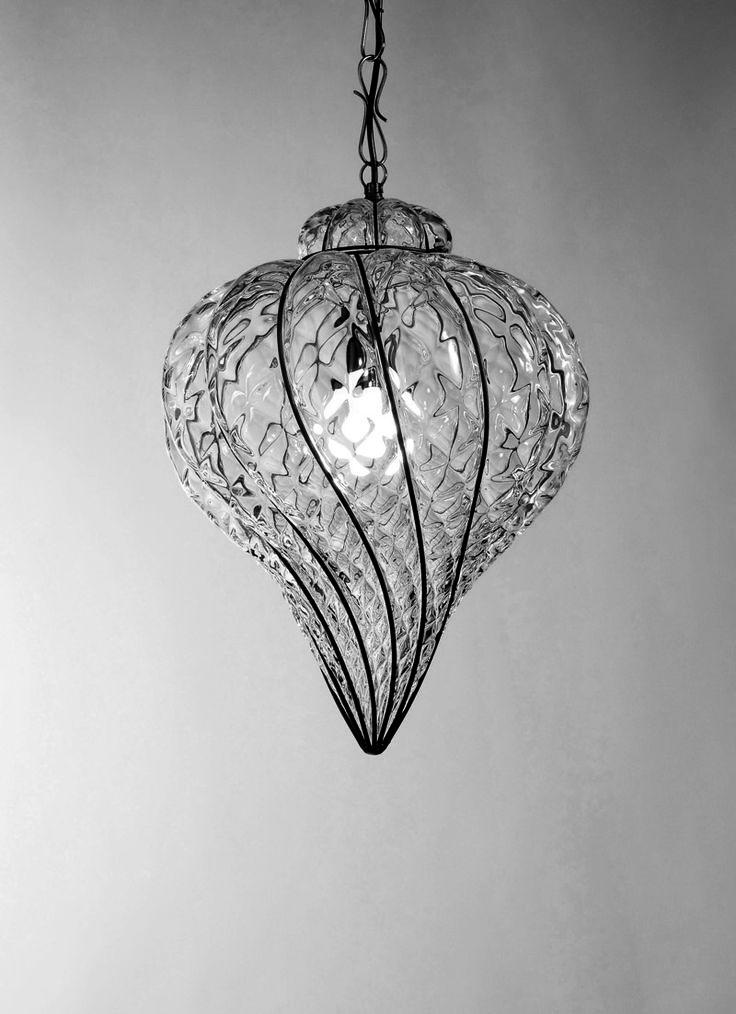 Goccia MS 111, Vecchia Murano Collection by #Siru. #Lamp #Design #MadeinItaly