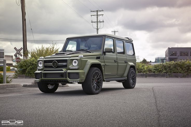 #Mercedes-#Benz G65 #AMG with PUR RS25 Forged #Wheels  #cars #suv #trucks #4x4 #rims #military #army #style #design   More from PUR Wheels >> http://www.motoringexposure.com/featured-fitment/pur-wheels/