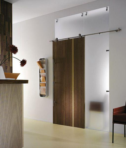 Dřevěné posuvné dveře závěsné OPPALL 5