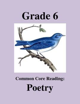 download free 6th grade common core poetry worksheets robert frost 39 s the last word of a. Black Bedroom Furniture Sets. Home Design Ideas