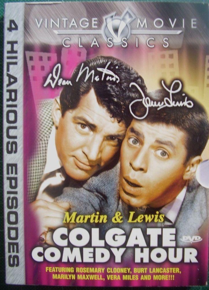 Dean Martin and Jerry Lewis:Colgate Comedy Hour:Vol 1-1953-Dean Martin-DVD