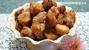 пошаговый фото-рецепт и видео-рецепт Пончиков из заварного теста