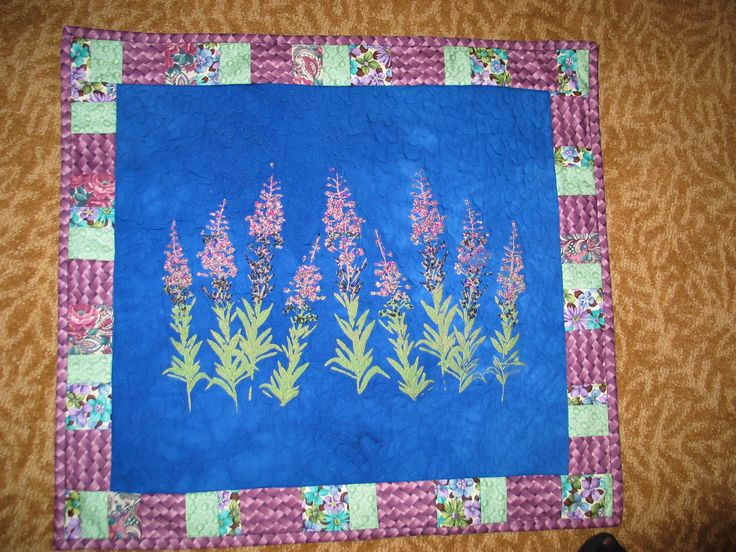 Fire weed wall hanging