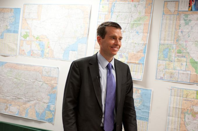 David Plouffe to talk at Disrupt NY about his move from the White House to Uber strategic adviser #Startups #Tech