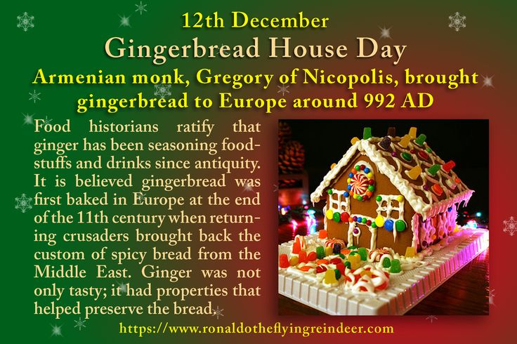 #today 12th December is #GingerbreadHouseDay  #NationalPoinsettiaDay We can thank the Brothers' Grimm for the idea of a gingerbread house through their tale of Hansel and Gretel. It didn't take long for the German gingerbread guilds to pick up the idea and put it to a more festive use making snowy cottages made from the spicy-sweet treat. #gingerbread  #gingerbreadhouse  #gingerbreadcity  #LoveFood
