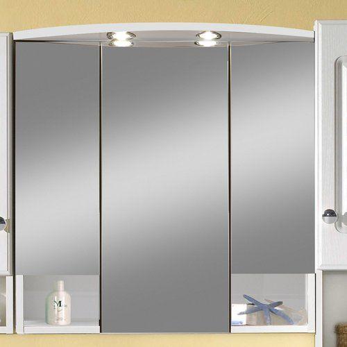 Die besten 25+ Spiegelschrank mit beleuchtung Ideen auf Pinterest - spiegelschrank badezimmer 70 cm