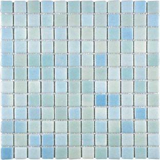 fusions mosaic wall tile aqua 316 x 316mm 4 pack. Black Bedroom Furniture Sets. Home Design Ideas