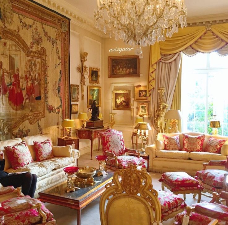 Pink And Gold Grande Salon Quintessential Luxury Iii In