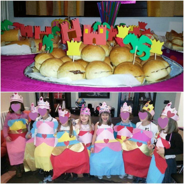 Festa a tema principesse fai da te ~ KeVitaFarelamamma | Che vita fare la mamma tra emozioni, letture e lavoretti per bambini