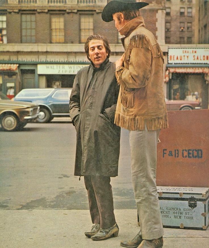 Dustin Hoffman & Jon Voight in Midnight Cowboy