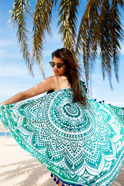 #ToallaRedonda #RoundTowel #Towel #Toalla #Mandala #Fashion #Boho #Bohostyle #Bohemian #Bohobeach #Bohodeco #TooTats #Goodvibes #Sea #Ocean #Palmtree #Verano