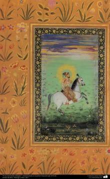 Miniatura de diferentes livros | Galeria de Arte Islâmica e Fotografia