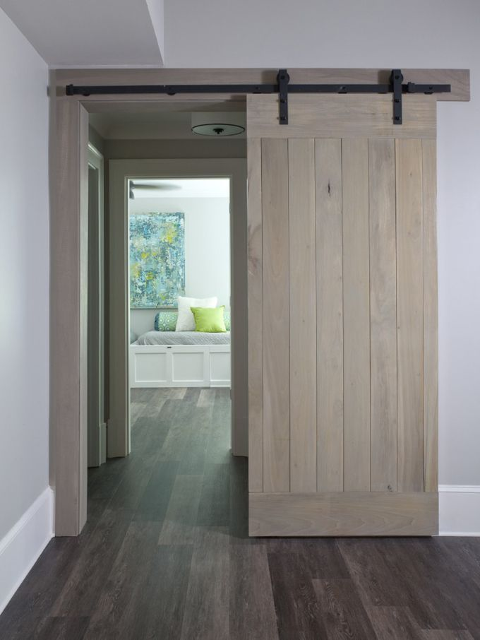 sliding barn door | Lori May Interiors