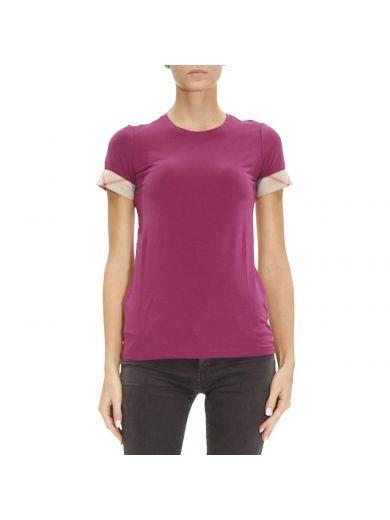 BURBERRY T-shirt T-shirt Women Burberry. #burberry #cloth #topwear