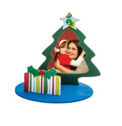 Make a beautiful Christmas themed photo frame