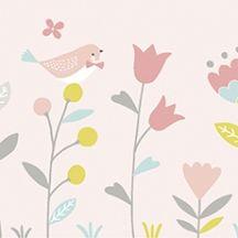 Frise papier peint fleurs