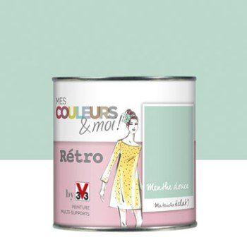 les 25 meilleures id es de la cat gorie peinture menthe sur pinterest couleurs de peinture. Black Bedroom Furniture Sets. Home Design Ideas