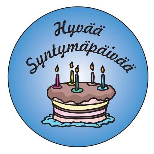 С днем рождения картинки по-фински