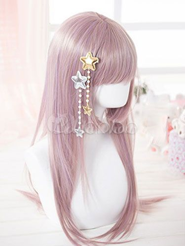 Sweet Lolita Hairpins Beaded Starlets Fringes Lolita Hair Accessories - Lolitashow.com