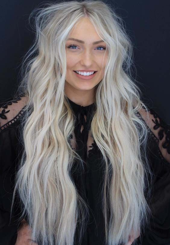 Best ever ideas of bright blonde hair colors for long hair to wear in 2018. Blonde is one of those awesome hair colors which are most liked one highlights for hair colors to select nowadays.