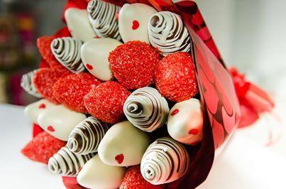 morangos cobertos com chocolate - Pesquisa Google