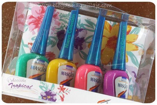 Colección de manicura Tropical de Masglo