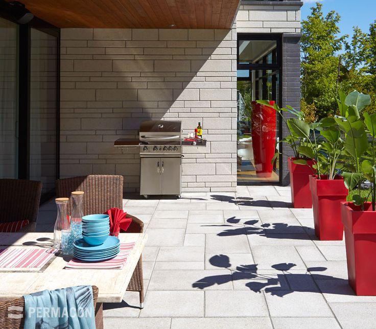 14 best images about bbq on pinterest - Amenagement exterieur terrasse maison ...