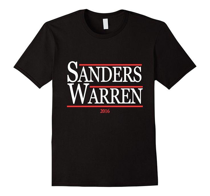 Bernie Sanders Elizabeth Warren 2016 T-Shirt