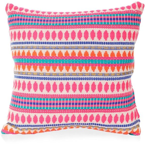 New Look Multicoloured Woven Stripe Cushion ($3.71) ❤ liked on Polyvore featuring home, home decor, throw pillows, multicolour, multi color throw pillows, stripe throw pillows, colorful home decor, woven throw pillows and striped throw pillows
