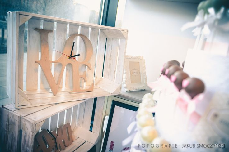 zegar+LOVE+35x34+cm++w+Pracownia+Marzeń+na+DaWanda.com