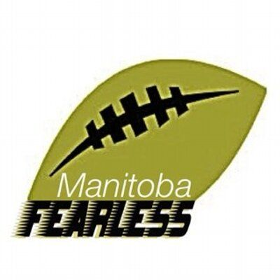 Manitoba Fearless (Winnipeg, Manitoba) Western Women's Canadian Football League #ManitobaFearless #WWCFL #WinnipegManitoba (L17872)