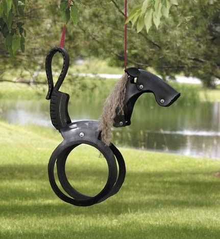 omg, I firmly believe that no one is ever too old for a tire swing. Therefore…I WANT ONE!!!! lol