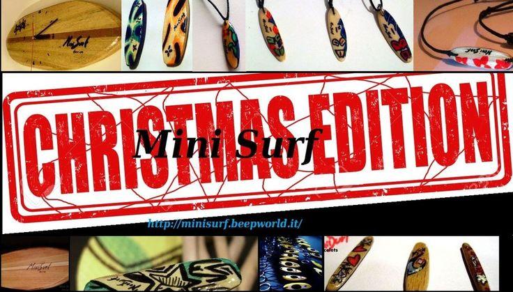 bracciali MINI SURF LIMITED EDITION CHRISTMAS IN OFFERTA SURF KITE CLIMB REGALO