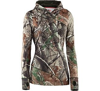 Under Armour Womens ColdGear Evo Scent Control Hoody | Womens Hunting Shirts | Womens Hunting Apparel | Womens Apparel | Apparel | Scheels
