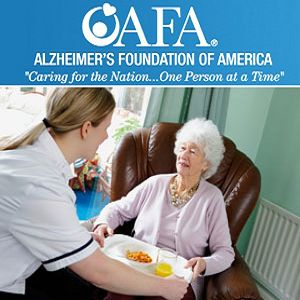 Help us to eliminate Alzheimer's disease through the advancement of research, to provide and enhance care and support for those in need and to reduce the risk of dementia through the promotion of brain health.  Help people with Alzheimer's and their families by donating to the Alzheimer's Foundation of America (AFA) and show your support for individuals with Alzheimer's disease and related illnesses, and their caregivers. DONATE Today!  Terry