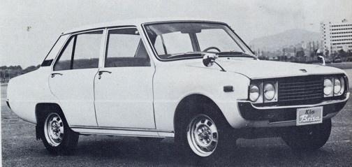 1981 Kia Brisa 1300