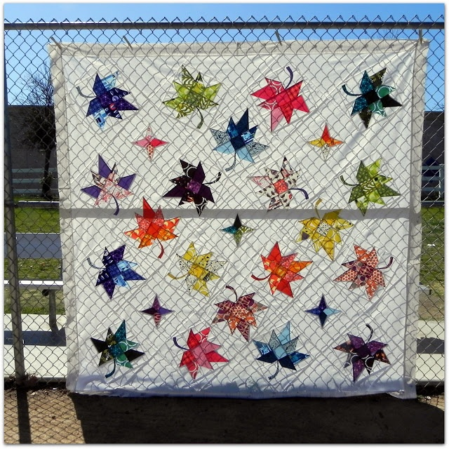 50 best leaf quilts images on Pinterest Quilting ideas, Autumn quilts and Quilt pattern