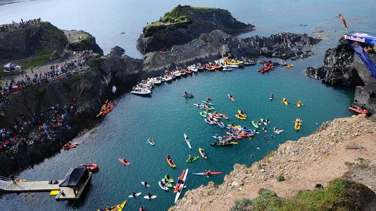 Red Bull Cliff Diving World Series: Abereiddy (Pembrokeshire)