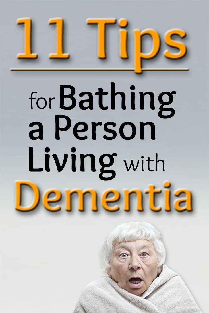11 Tips for Bathing a Person Living with Dementia: www.pineseducatio...