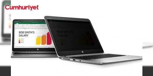 Gizlilik ekranına sahip dizüstü: HP Sure View: Yenilikçi HP Sure View teknolojisi bilgisayar ekranına göz atarak yapılan bilgi hırsızlığıyla mücadeleye destek vererek şirketin güvenlik alanındaki liderliğini pekiştiriyor.