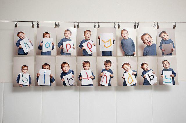 Happy Birthday Foto Geschenk Ideen Fotogeschenke Diy Und