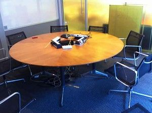 Lovely meeting table - quick sale hence price!