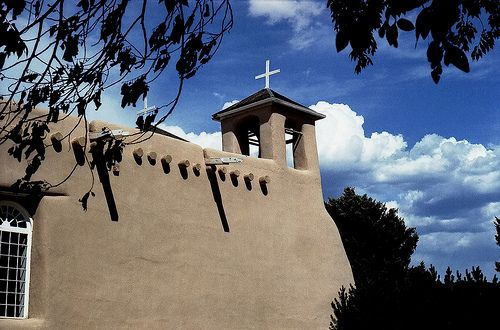 San Francisco de Assisi Church, Ranchos de Taos, New Mexico by George Pearce, via Flickr