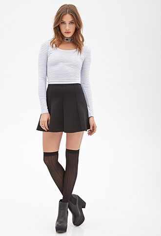 Shadow Striped Top | FOREVER21 - 2000084966