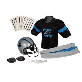 Check out the Franklin Sports 15701F30P1Z NFL Panthers Medium Uniform Set