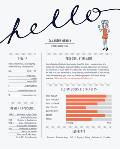 98 best images about resume design on Pinterest Cool resumes - how to make an outstanding resume