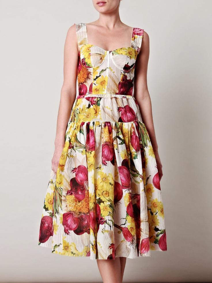 Funky Florals: Gabbana Redonion, Dressy Dresses, Funky Floral, Dresses Red, Prints Organza, Dresses 206700, Organza Dresses, Products, Redonion Prints